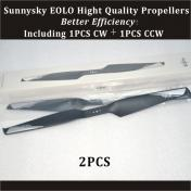 Quality/Efficiency EOLO 1555 Propeller for Tilt Rotor Rear (2PCS)