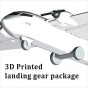 Albabird 3D Printed landing gear package